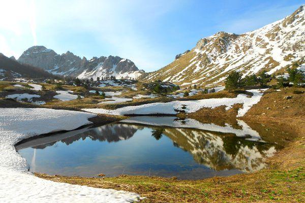נוף חורפי בפארק הלאומי סוטייסקה (צילום: Vojkan wiki RS)