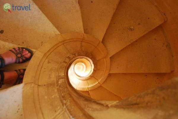 המנזר של טומאר (צילום: כרמית וייס)