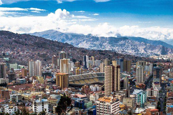 לה פאס, עיר הבירה הלא רשמית של בוליביה (צילום: David Almeida)