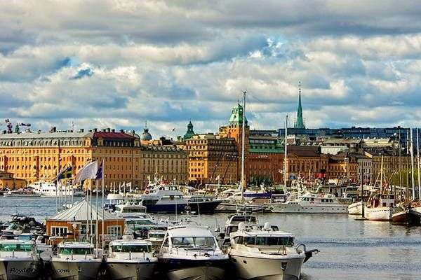 סטוקהולם בירת שבדיה  (צילום: Over Doz)