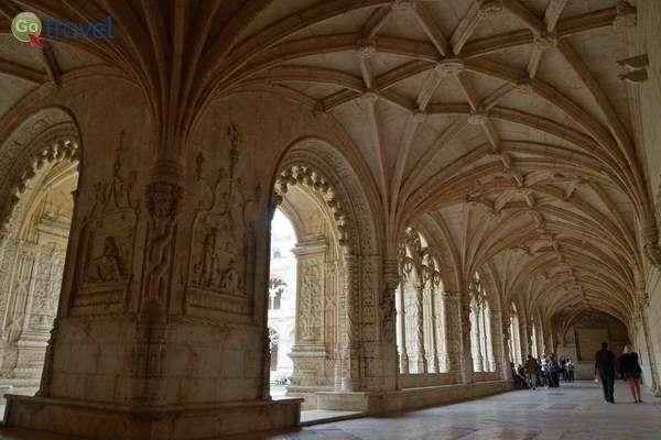 מנזר ז'רונימוס ברובע בלם של ליסבון  (צילום: כרמית וייס)