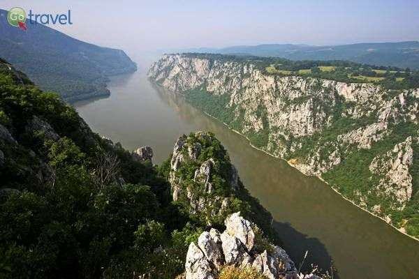 הדנובה זורמת לאורכה של סרביה (צילום: National Tourism Organisation of Serbia)