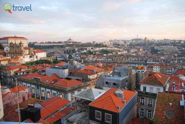גגות העיר העתיקה של פורטו (צילום: כרמית וייס)