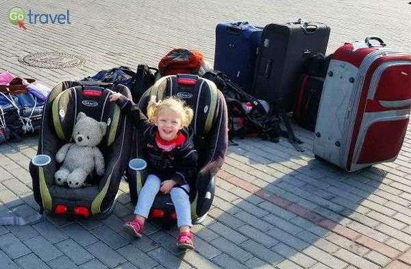"""להביא את כסאות הבטיחות מהבית גם לטיול בחו""""ל  (צילום: אביב וייס)"""
