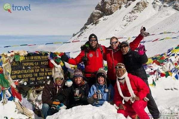 מעבר תורונג-לה בנפאל - 5,416 מ'  (צילום: Alain)