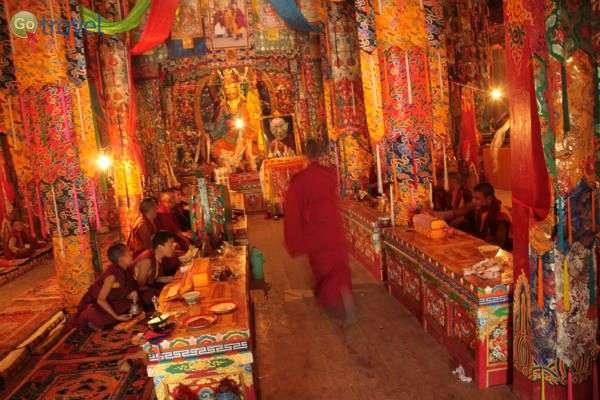 כך נראים חלק מהמנזרים מבפנים (צילום: יובל לוי)