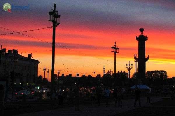 """""""לילות לבנים"""" בסנט פטרסבורג (צילום: דניאל גולדנברג)"""