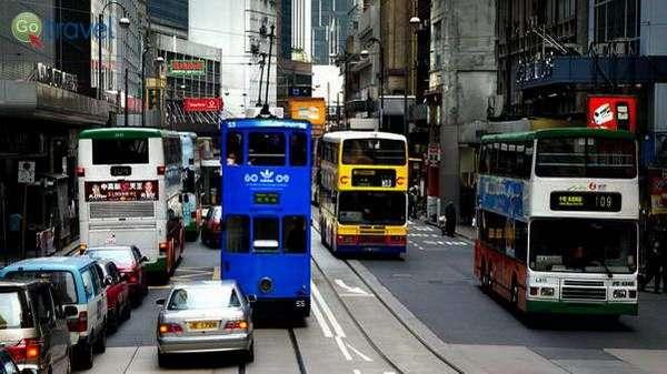 גם התחבורה בקומות...   (צילום: Bernard Spragg. NZ)
