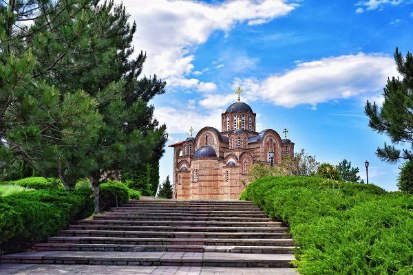 כנסיית גרצ'ניצה בעיר טרבינייה (צילום: Jocelyn Erskine-Kellie)