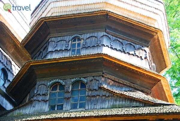 כיפת כנסיית העץ בדרוהוביץ'  (צילום: כרמית וייס)