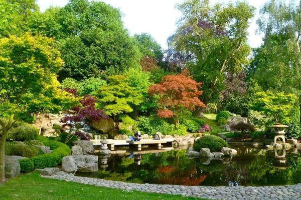 הגן היפני בהולנד פארק (צילום: Herry Lawford)