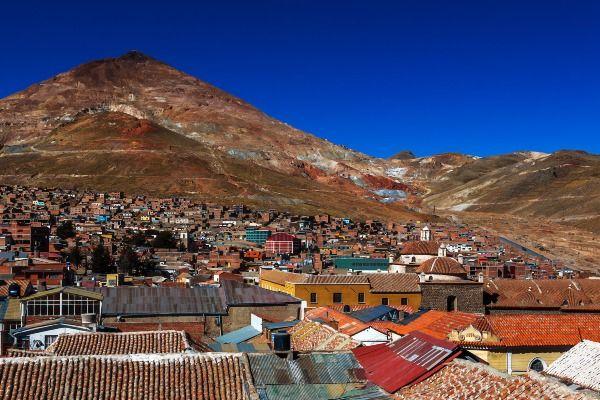 העיר פוטוסי, בירת המכרות של בוליביה (צילום: roman korzh)