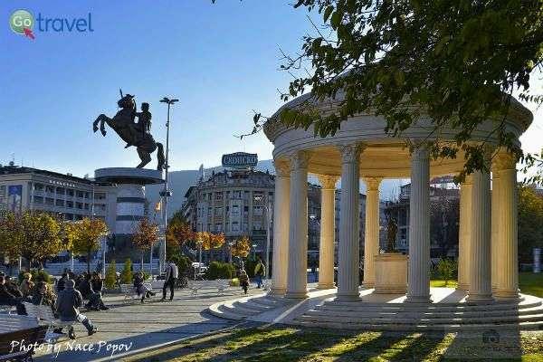 מרכז העיר של סקופיה (צילום: Nace Popov)