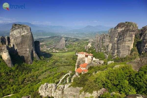 מנזרי מטאורה בצפון יוון, בטיול עם המדריך הוירטואלי (צילום: באדיבות MEDRAFT)