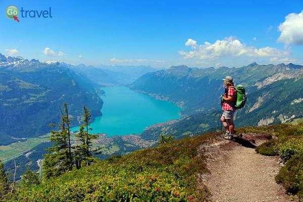 תצפית על אגם בריינץ מפסגת בריינץ רות'ורן  (צילום: Uwe Häntsch)