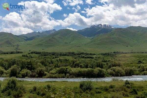 נהר זורם בשמורת קרקול (צילום:  Ninara)