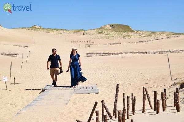 דיונת חול ברצועה הקורונית  (צילום: כרמית וייס)