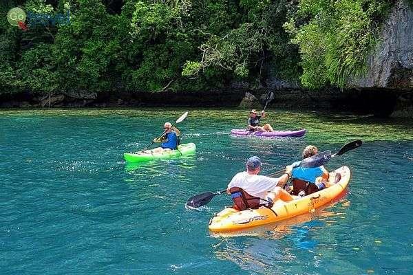 טיולי קייאקים בין האיים היפהפיים של פלאו (צילום: אמיר גור)