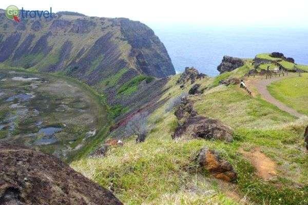 נופים יפהפיים על האי (צילום: רונן רז)
