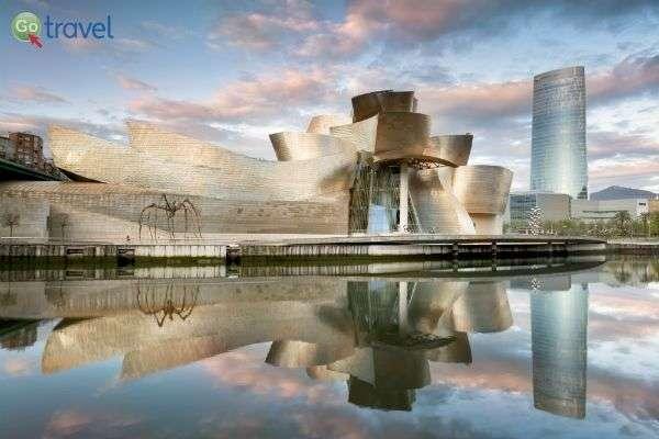 מוזיאון גוגנהיים-בילבאו המפורסם    (צילום: Bilbao tourismo)