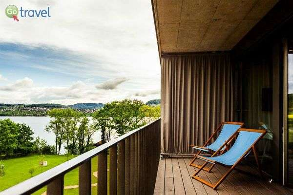 מהמרפסת נפרס נוף מרהיב - מלון סירוס