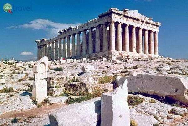 הפרתנון באקרופוליס של אתונה   (צילום: Serendigity)