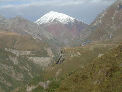 הר קזבג, גאורגיה