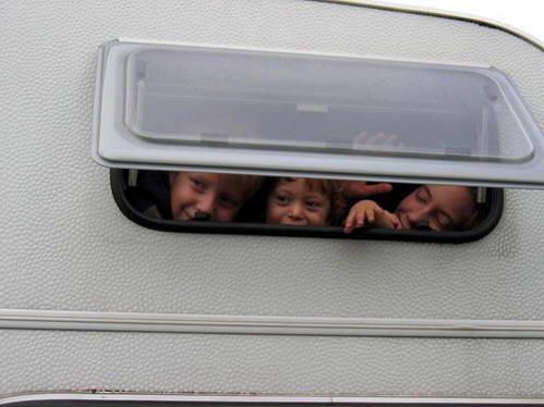 טיול קרוואן עם ילדים
