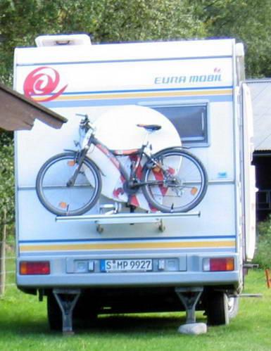 אופניים בקרוואן