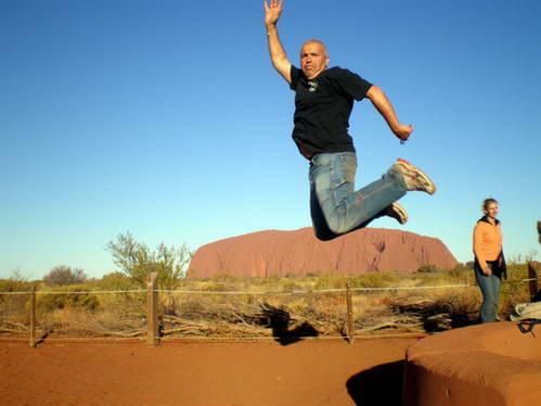 אני ואיירס רוק, הסלע הכי מפורסם באוסטרליה