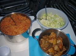 אוכל של בית בקרוואן