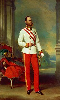 הקיסר פרנץ יוזף הראשון, אוסטריה