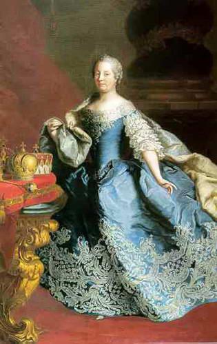 הקיסרית מריה תרזה, אוסטריה