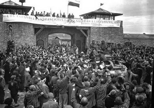 שחרור מחנה הריכוז מאוטהאוזן, אוסטריה