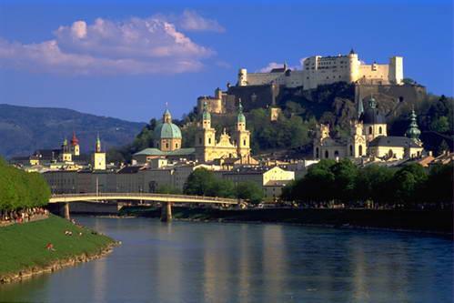 המצודה של זלצבורג, אוסטריה