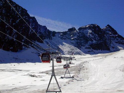 קרחון שטובאי, אוסטריה GOTRAVEL