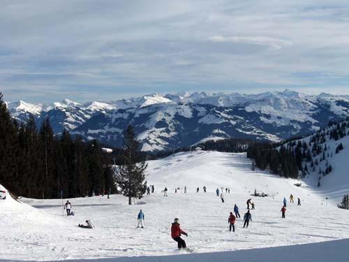 אתר הסקי סקיוולט, מחוז טירול, אוסטריה