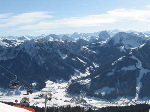 עמק בריקסנטל ורכס קיצביל, סקיוולט, אוסטריה