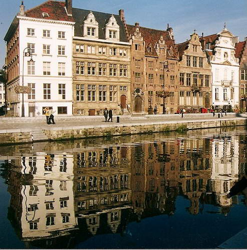 העיר העתיקה של חנט, בלגיה