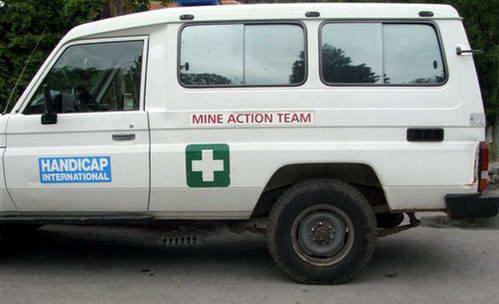 צוות לסילוק מוקשים, בוסניה והרצגובינה