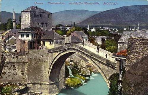 הגשר במוסטר - זכר לעות'מאנים