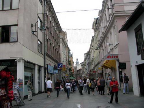 מדרחוב פרדהדייה בסרייבו, בוסניה והרצגובינה