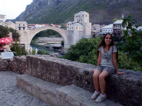 אני והגשר הישן של מוסטר
