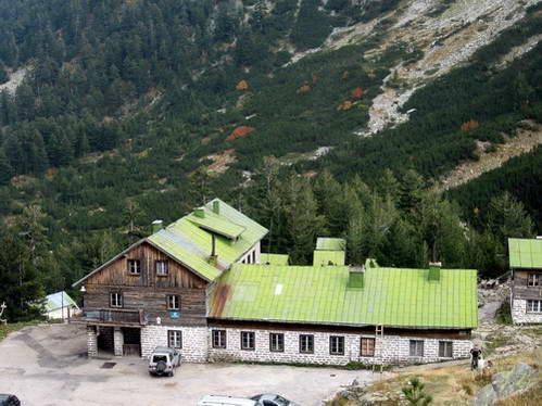 בקתת הרים בהרי פירין