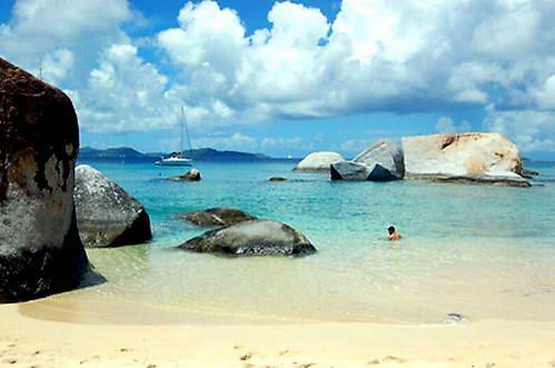 חופים טרופיים - איי הבתולה
