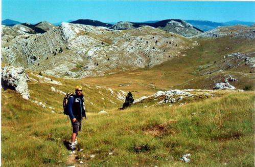 דינארה, האלפים הדינאריים, קרואטיה