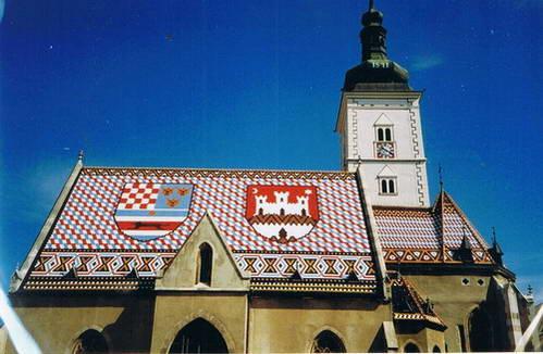 כנסיית מארק הקדוש , זאגרב, קרואטיה