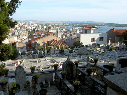 תצפית על שיבניק , קרואטיה