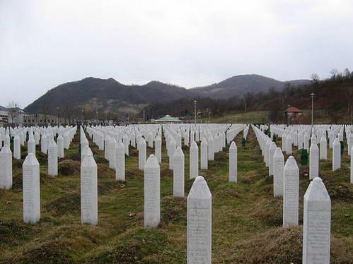 בית הקברות בסרברניצה, בוסניה והרצגובינה