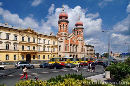 בית הכנסת הגדול בפלזן, צ'כיה